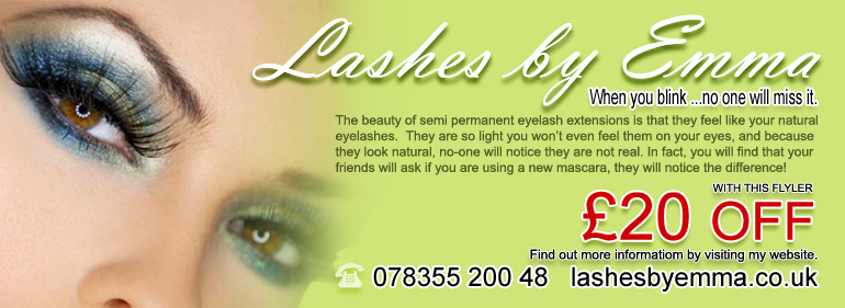 £20 OFF Your First Set of Lashes