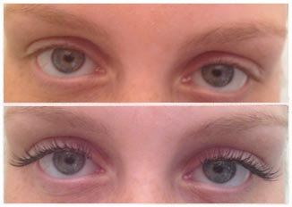 before and after eyelash extensions gallery � lashes by emma